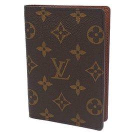 Louis Vuitton-Couverture de passeport LOUIS VUITTON Couverture de cahier unisexe Passeport M60180-Autre
