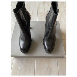 Alexander Mcqueen-Boots-Black