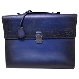Berluti-Bags Briefcases-Blue