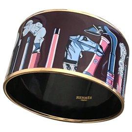 Hermès-jonc émail-Multicolore