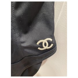 Chanel-Swimwear-Black,White