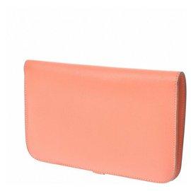 Hermès-Hermes wallet-Orange