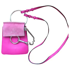 Chloé-Chloé Faye shoulder bag-Fuschia
