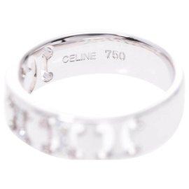 Céline-Céline Ring-Silvery