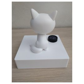 Karl Lagerfeld-Figurine Choupette Karl Lagerfeld-Blanc