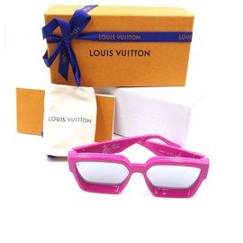 Louis Vuitton-Louis Vuitton 1.1 Lunettes de soleil à monogramme Millionaires-Rose