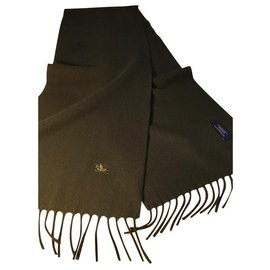 Burberry-Men Scarves-Khaki