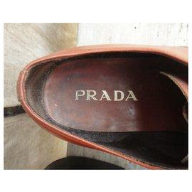 Prada-Prada p derbies 42,5-Light brown