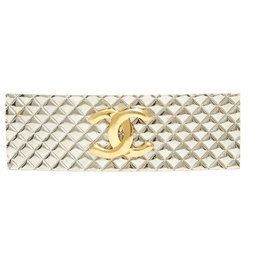 Chanel-SILVER TIMELESS GOLDEN CC-Silvery,Golden