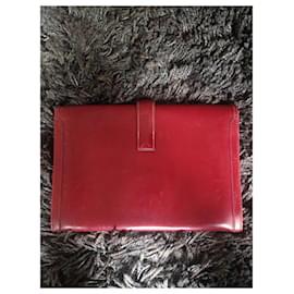 Hermès-Jige Hermes clutch-Red