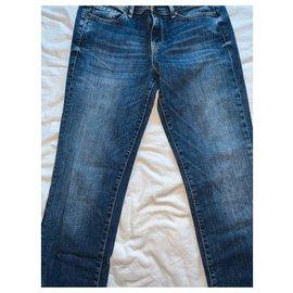 Guess-Jean Guess Alexa Regular Bleu droit Taille 38 (29 US)-Bleu