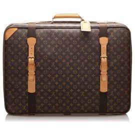 Louis Vuitton-Satellite Louis Vuitton Brown Monogram 70-Marron