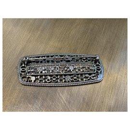 Chanel-Pins & brooches-Dark grey
