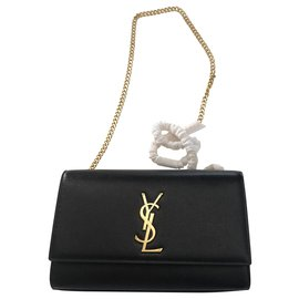 Saint Laurent-YSL KATE MEDIUM bag-Black