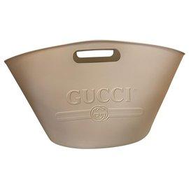 Gucci-Cabas Caoutchouc-Rose