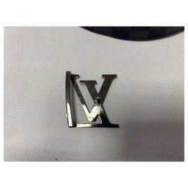 Louis Vuitton-initial belt-Black