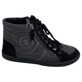 Chanel-Chanel-Black,Grey