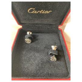Cartier-Cufflinks-Silver hardware