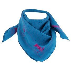 Céline-Céline scarf-Blue