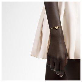 Louis Vuitton-BRACELET ESSENTIAL V vuitton-Doré