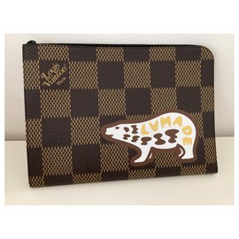 Louis Vuitton-Clutch bags-Brown