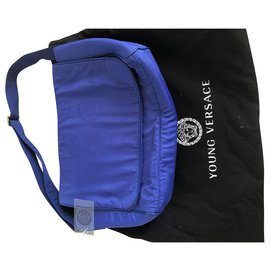 Versace-Versace Young bag-Blue