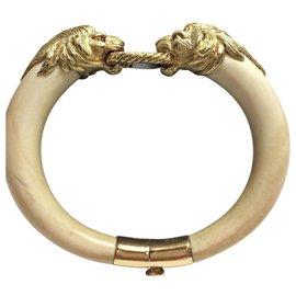 Van Cleef & Arpels-VAN CLEEF & ARPELS IMPORTANT BRACELET EN 18 K Gold, IVOIRE ET RUBIS-Doré
