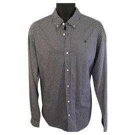 Scotch and Soda-Shirts-White,Navy blue