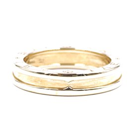 Bulgari-Bvlgari 18K 750 B Zero 1 1-band Band Ring Size 59-Golden
