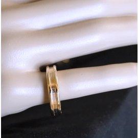 Bulgari-Bvlgari 18K 750 B Zéro 1 1-taille de la bague du bracelet 59-Doré