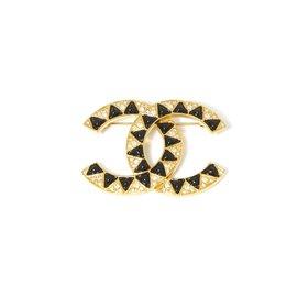 Chanel-BACK TO BASIC-Black,Golden