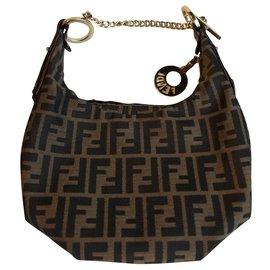 Fendi-Handbags-Brown