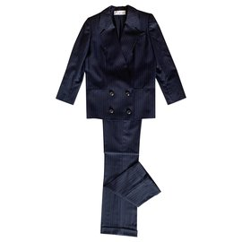 Christian Dior-Jackets-Navy blue