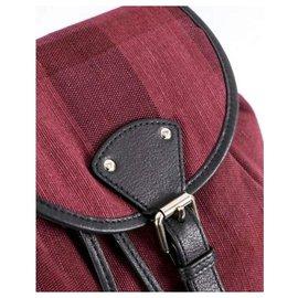 Burberry-Backpacks-Purple