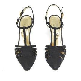 Chanel-HAUTE COUTURE BLACK FR37-Black