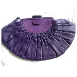 Christian Dior-Clutch bags-Purple