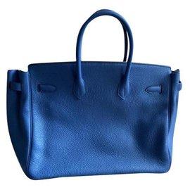 Hermès-Hermès Birkin bag new-Blue