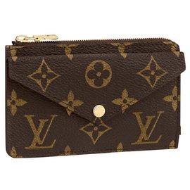 Louis Vuitton-LV Card holder recto verso-Brown