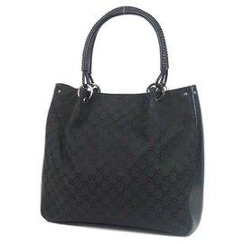Gucci-Sac cabas Gucci Femme 115016 black-Noir