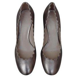 Chloé-Heels-Silvery