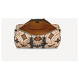 Louis Vuitton-LV Keepall Crafty 45-Caramel