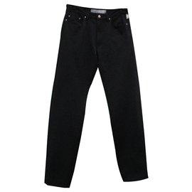 Versace-Un pantalon, leggings-Noir