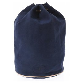 Hermès-Hermès Backpack-Blue