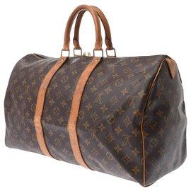 Louis Vuitton-Louis Vuitton Keepall-Brown
