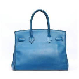 Hermès-Birkin 30-Blue