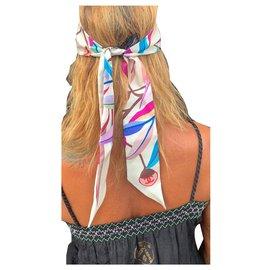Chanel-Slim headband-Cream