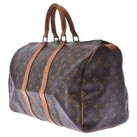 Louis Vuitton-Louis Vuitton Keepall 45-Brown