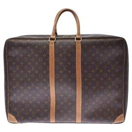 Louis Vuitton-sac de voyage louis vuitton-Marron