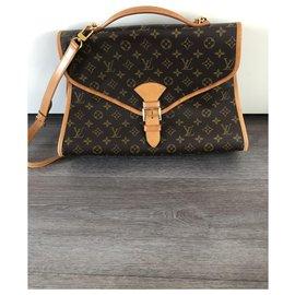 Louis Vuitton-Porte-documents Beverly GM à monogramme marron Louis Vuitton-Marron