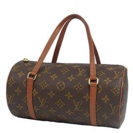 Louis Vuitton-LOUIS VUITTON Papillon PM Papillon 26 Sac Boston femme M51366-Autre